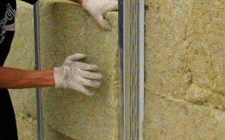 Утепление фасада минеральной ватой своими руками