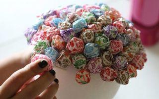 Поделки из конфет на новый год своими руками: нестандартные варианты