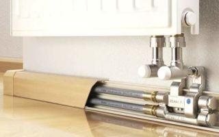 Электрический теплый плинтус — инструкция по монтажу!