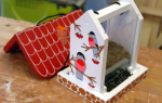 Как сделать кормушку для птиц своими руками: пошаговые инструкции