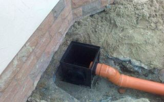 Дождеприемники для ливневой канализации: основные виды