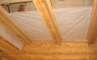 Утепление пола в деревянном доме снизу — как сделать?