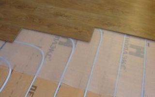 Теплый пол под ламинат на деревянный пол — особенности устройства.