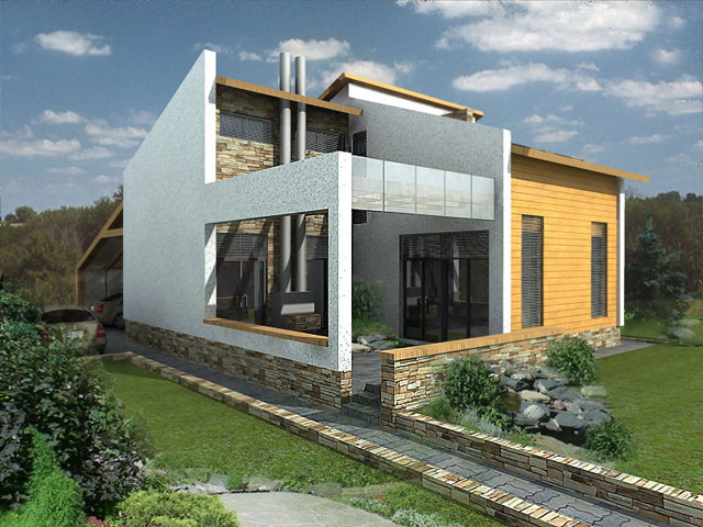 Дом из бетонных панелей: секреты выбора материалов и постройки