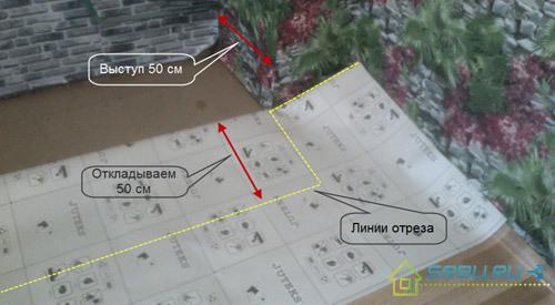 Как стелить линолеум: последовательность действий от замеров до установки плинтусов