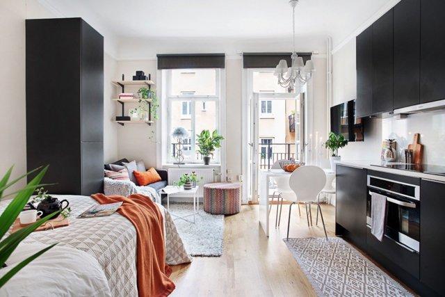Квартира-студия: планировка интерьера и фото интересных решений
