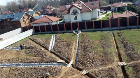 Дренаж на дачном участке: самый простой способ отвода вод