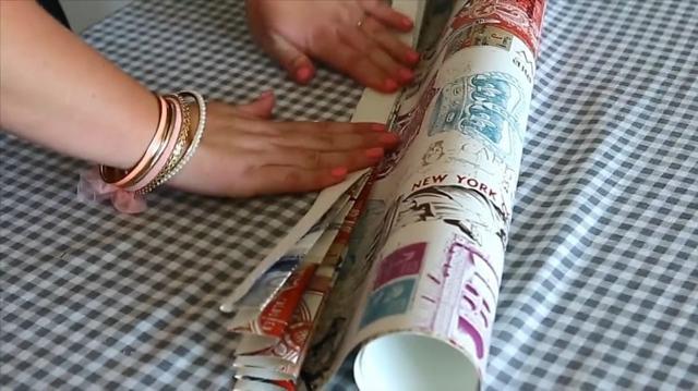 Как сделать жалюзи из обоев своими руками: идеи для дома