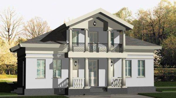 Дом с мезонином: фото, идеи, виды, конфигурация, монтаж