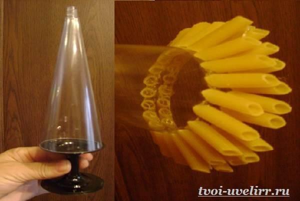 Как легко создать красоту из того, что есть на кухне: шикарные ёлки из макарон своими руками