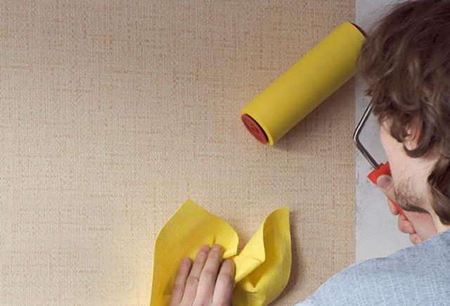 Как клеить виниловые обои на бумажной основе - полезные советы!