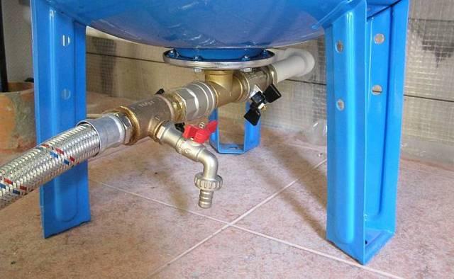 Гидроаккумулятор для систем водоснабжения: выбор и установка