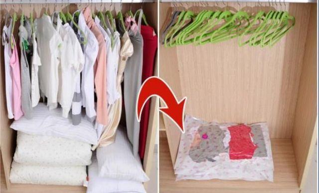 Вакуумные пакеты для хранения вещей: зачем они нужны, как ими пользоваться