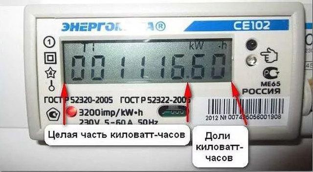Как снять показания счетчика электроэнергии: инструкции