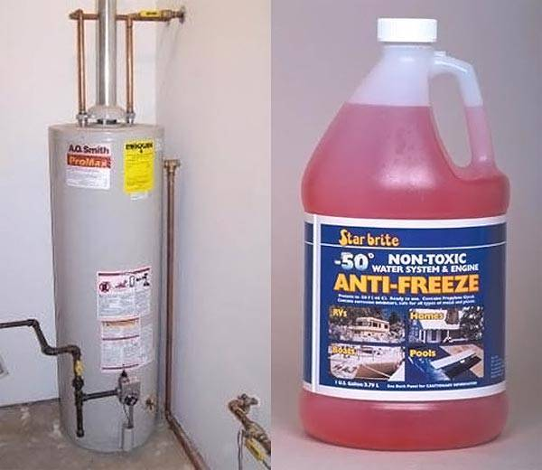 Антифриз для системы отопления загородного дома - виды