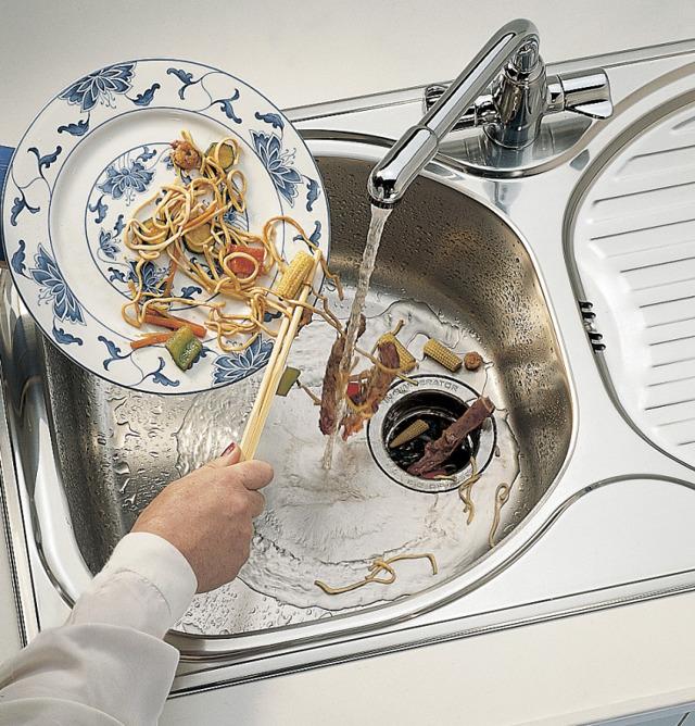 Измельчитель пищевых отходов для раковины - нужен ли?