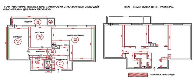 Как узаконить перепланировку квартиры самостоятельно - инструкция!