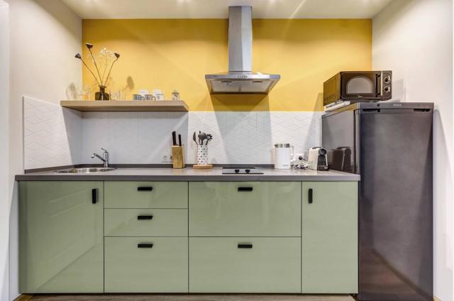 Дизайн кухни 9 м², идеи, фото и особенности планировки и интересное оформление