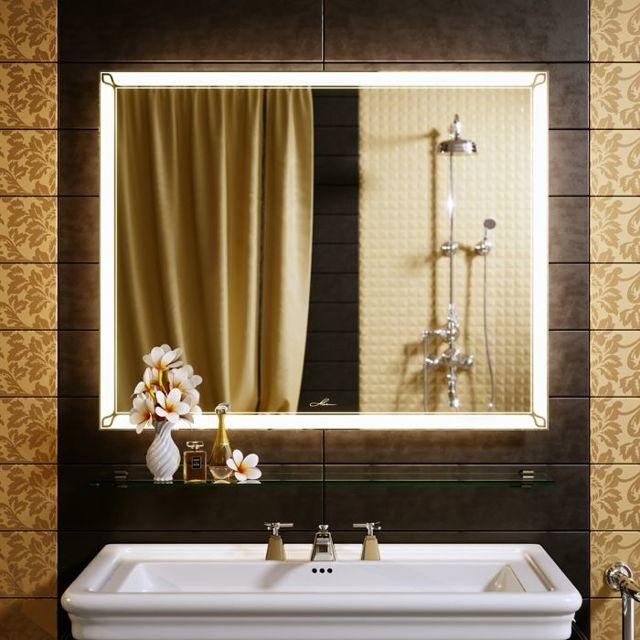 Зеркало с подсветкой для макияжа: идеи и функционал.