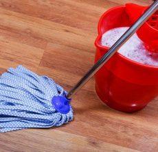 Как отмыть линолеум после ремонта: бытовая химия, народные средства