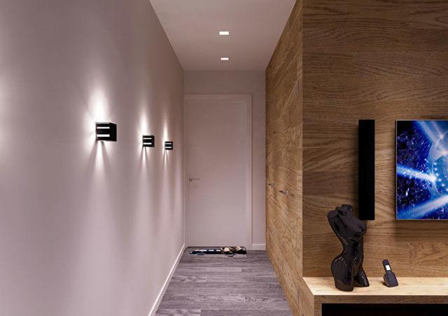 Дизайн маленькой прихожей: выбор отделки и обстановки