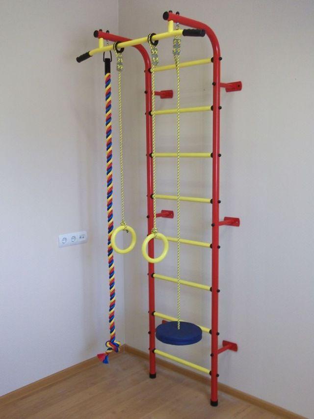 Детский спортивный комплекс в квартиру: виды и условия выбора