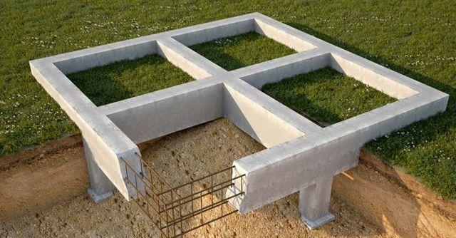 Виды фундаментов для частного дома и когда какой используется