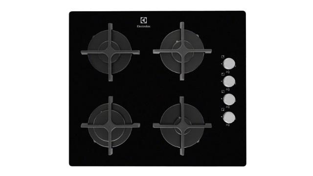 Встраиваемая варочная 4-конфорочная газовая панель