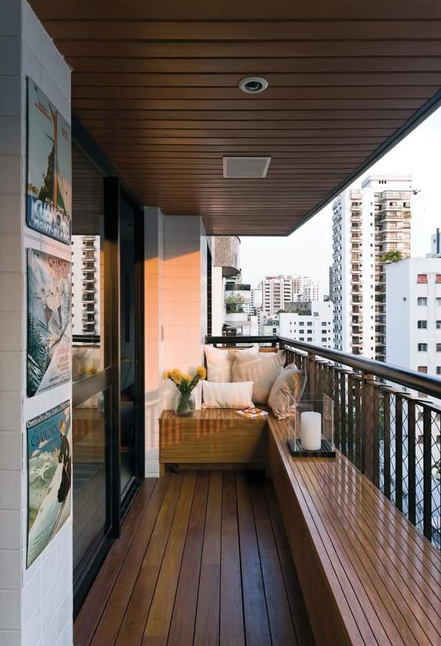 Интересные идеи отделки балконов: фото, примеры и советы
