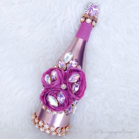 Как украсить бутылку шампанского на Новый год своими руками: варианты декора