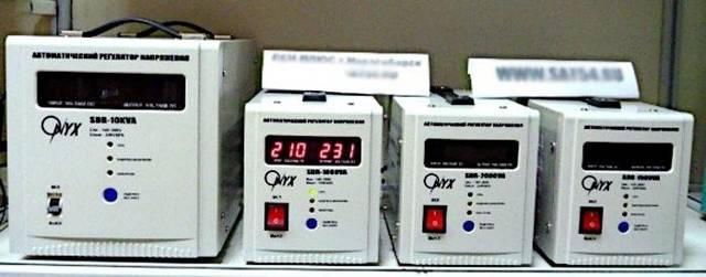 Какой выбрать стабилизатор напряжения 220в для дачи - изучаем.