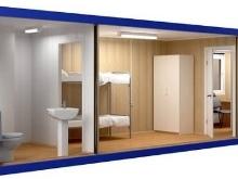 Бытовки дачные двухкомнатные с туалетом и душем: нюансы выбора