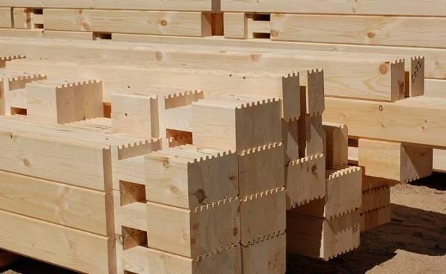 Деревянный брус – лучшее решение для дома. Виды, проекты домов