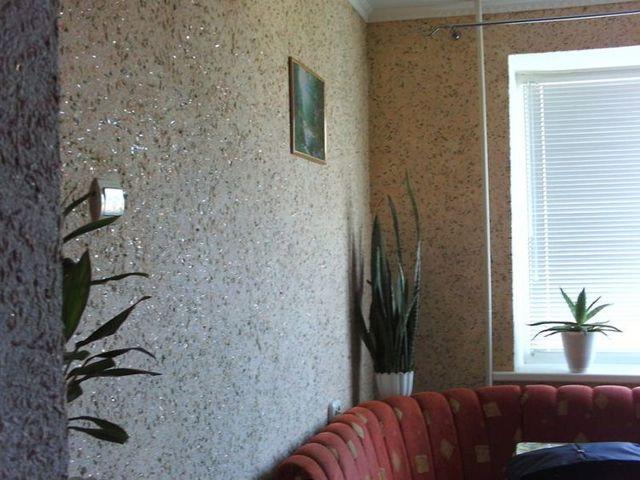Жидкие обои: фото интерьеров в обычных квартирах