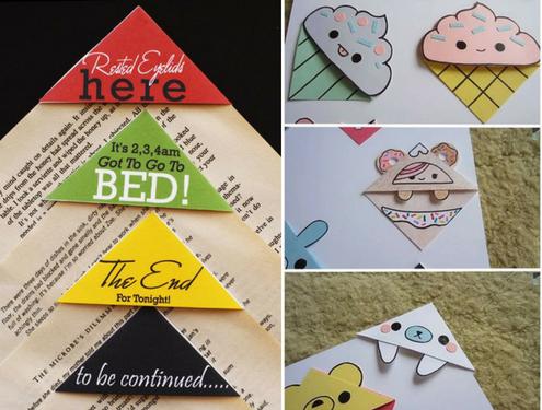 Закладки для книг своими руками: идеи оригинальных поделок