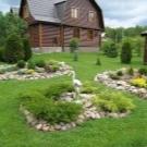 Благоустройство территории частного дома: фото примеры, советы