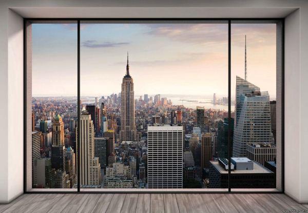 3Д фотообои для стен: фото-каталог удачных интерьеров