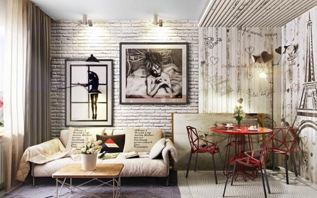 Интерьеры квартиры просто и со вкусом: фото, полезные советы