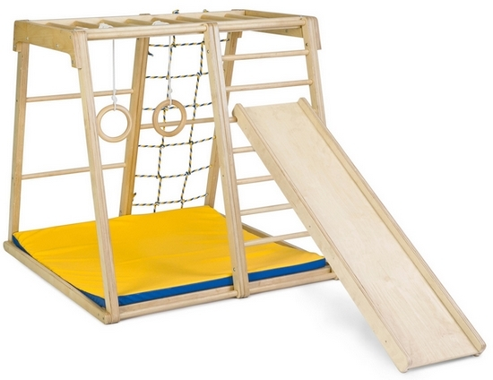 Как правильно выбрать спортивный уголок для детей в квартиру