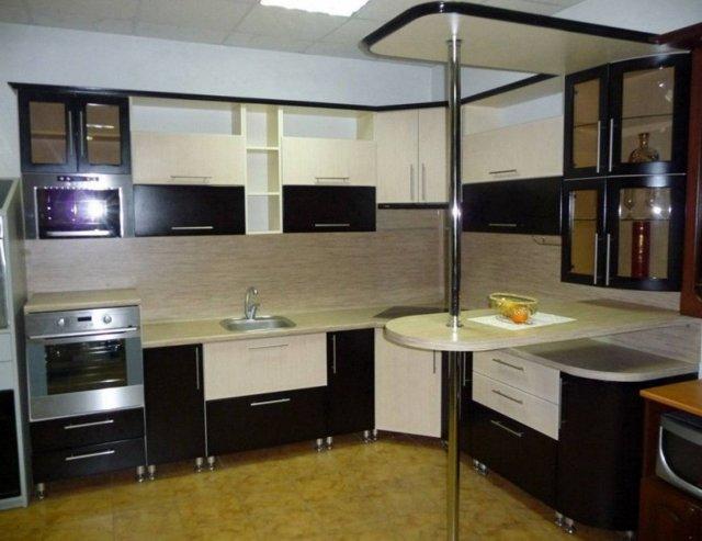 Барная стойка на кухне: фото, виды