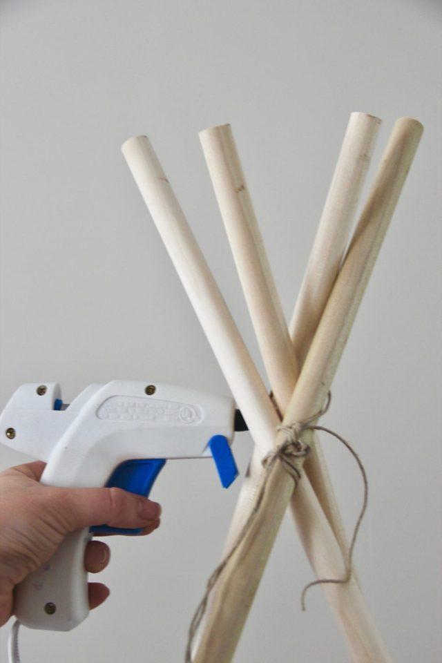 Вигвам для детей своими руками: пошаговое фото этапов, описание конструкции