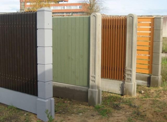 Заборы из дерева: фото, материалы и интересные решения