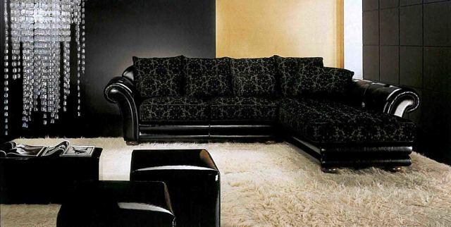 Дизайн гостиной с угловым диваном - стильное решение