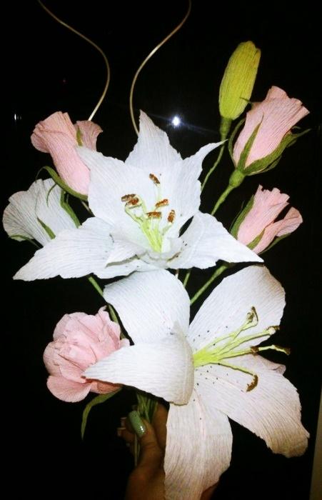 Как сделать своими руками цветы из гофрированной бумаги