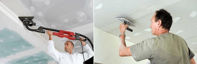 Двухуровневые потолки из гипсокартона: фото и монтаж пошагово