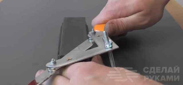 Приспособление для заточки ножей: как выбрать и сделать самому