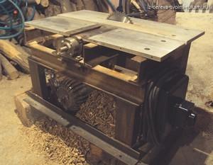Станки по дереву для домашней мастерской: технология изготовления