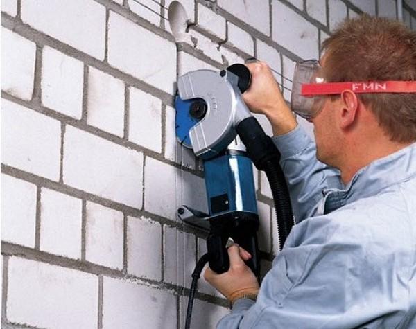 Штроборез по бетону: принцип работы и технические характеристики