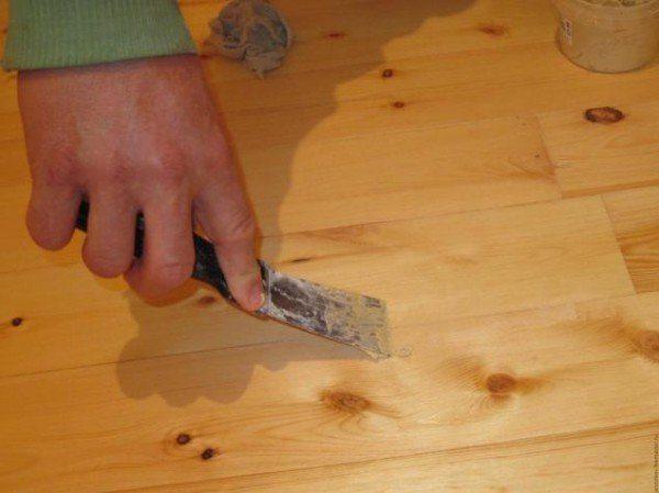 Шпаклёвка по дереву: виды, характеристики, рецепты изготовления