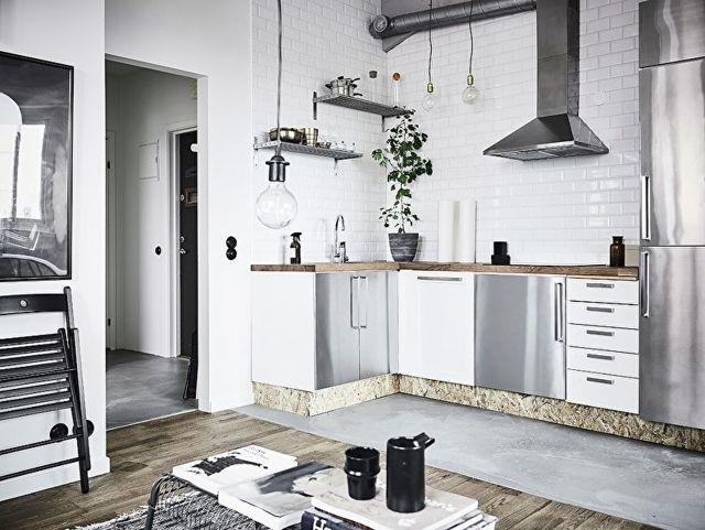 Кухня в скандинавском стиле: интерьер, фото